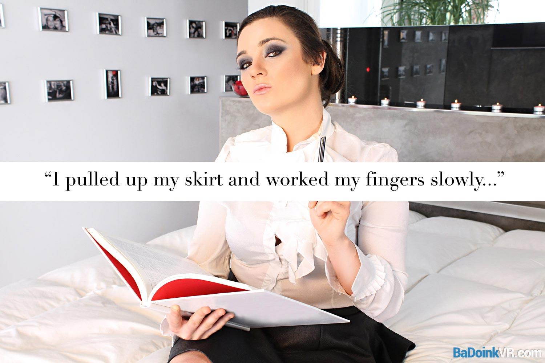 Virtual sex story